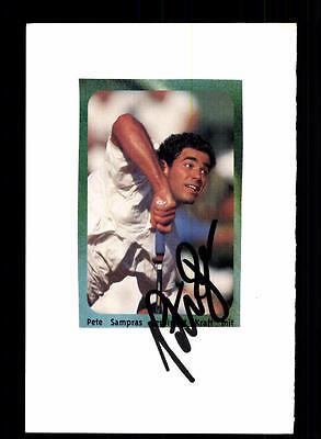 Pete Sampras Original Signiert Tennis + A 155465