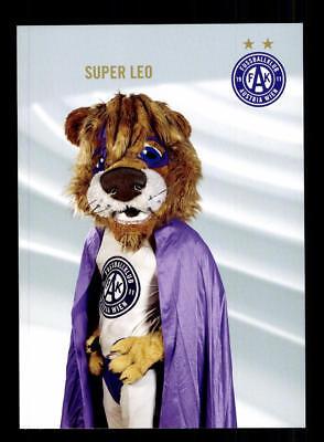 Super Leo Maskottchen Autogrammkarte Austria Wien 2017-18 TOP  +A 174653 OU