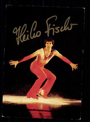 Heiko Fischer Autogrammkarte Original Signiert Eiskunstlauf+A 188106