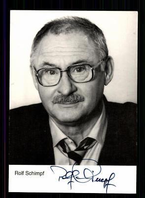 Rolf Schimpf Autogrammkarte Original Signiert # BC 133156