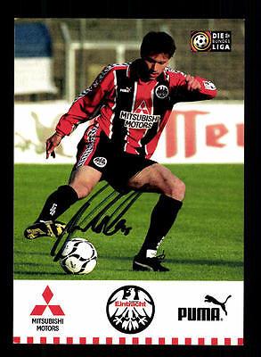 Alexander Kutschera Autogrammkarte Eintracht Frankfurt 1997-98 Original  +A52349