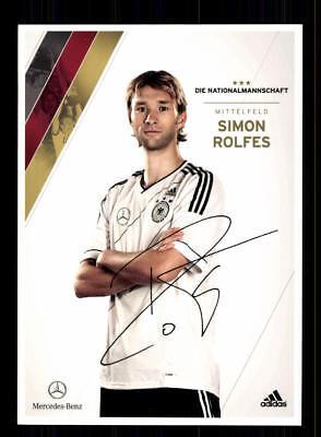 Simon Rolfes DFB Autogrammkarte 2012 NEU AK Europameisterschaft 2012
