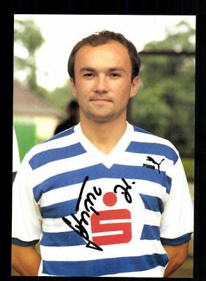 Drago Skripic Autogrammkarte MSV Duisburg 1988-89 Original Signiert + A 198957