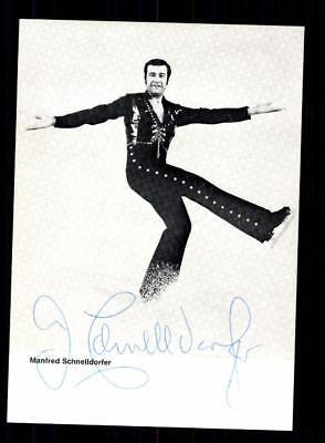 Manfred Schnelldorfer Autogrammkarte Original Signiert Eiskunstlauf+A 188107