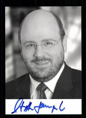 Steffen Kampeter Autogrammkarte Original Signiert ## BC 133126