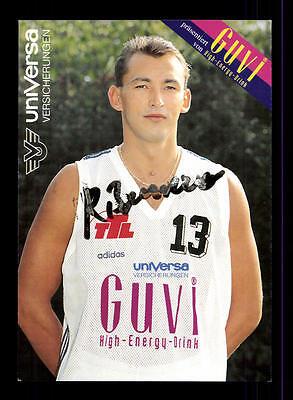 Bruno Roschnafsky Autogrammkarte Basketball Original Signiert + A 145333