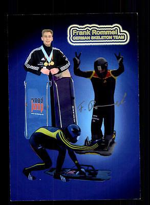 Frank Rommel Autogrammkarte Original Signiert Rodeln + A 134095