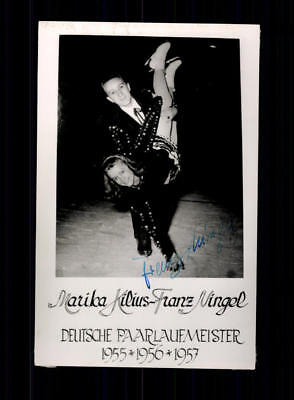 Franz Nigel Autogrammkarte Original Signiert Eiskunstlauf+A 188110