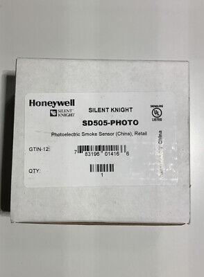 Honeywell Silent Knight Sd505-photo Smoke Sensor