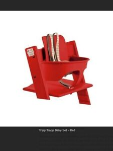 Stokke Baby Set for Tripp Trapp Chair - Red