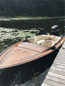 18' Commander Speed/Ski Boat With Trailer