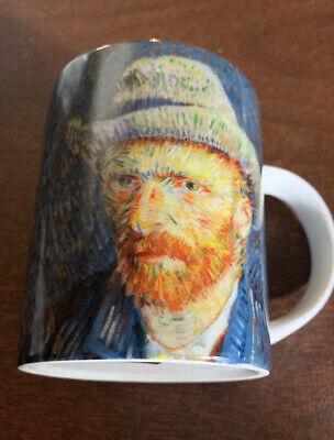 Vincent Van Gogh Self portrait with gray felt hat Museum Coffee Mug (Vincent Van Gogh Self Portrait With Felt Hat)