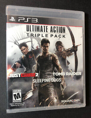 Ultimate Action Triple Pack (PS3) NEW comprar usado  Enviando para Brazil