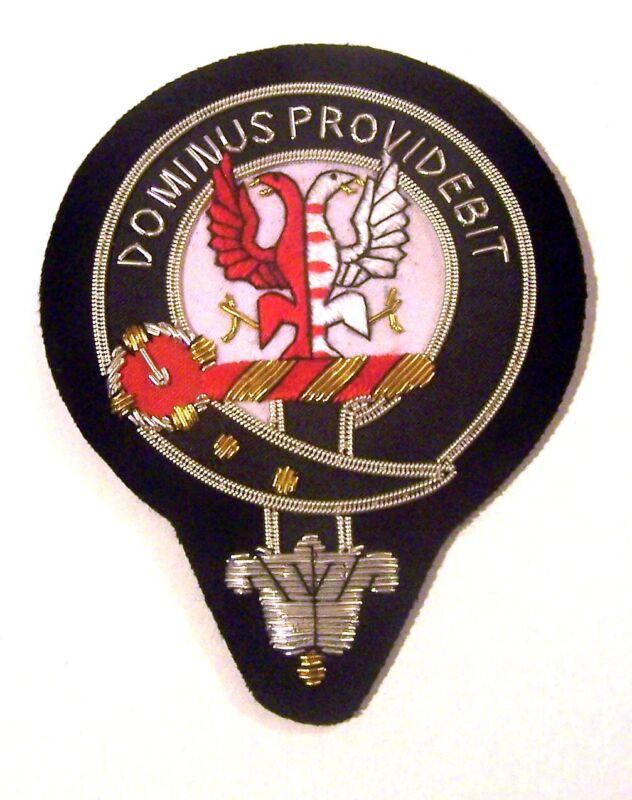 Royal Scottish Scotland Clan Boyle Crest Heraldry Family Reunion Name Patch COA