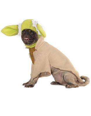 Halloween Pet Dog Costume - Disney Star Wars YODA Costume - Sz M (NEW)  (Dog Yoda Costume)