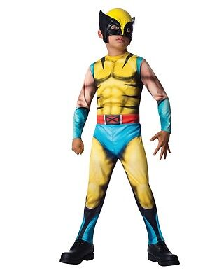 Wolverine Marvel Universal Classic Collection Boys Child Costume (Wolverine Child Costume)