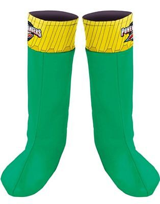 Childs Power Rangers RPM Green Ranger Costume Boot Covers - 19134