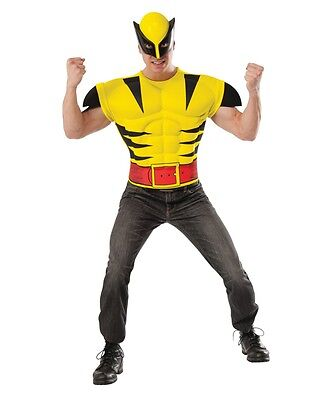 Wolverine X-Men Muscle Shirt Adult Men Costume (Adult Muscle Costume)