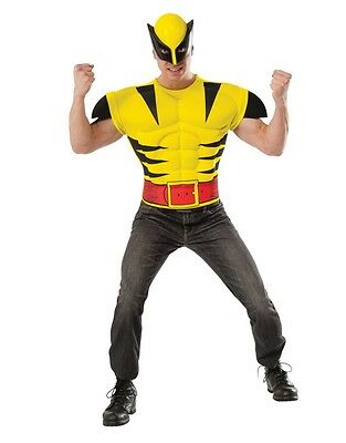 Wolverine X-Men Muscle Shirt Adult Men Costume (Xmen Costumes)