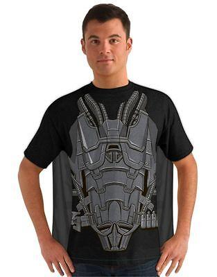 Adult Mens Man of Steel General Zod T-Shirt Costume (General Zod T Shirt Man Of Steel)