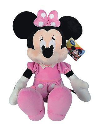 Disney Minnie Mouse Maus  25cm Plüsch Stofftier Plüschtier Kuscheltier