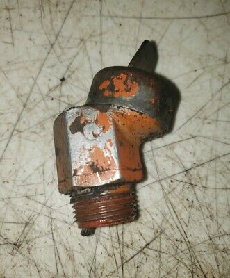 Allis Chalmers Wd Wd45 Tractor Hydraulic Oil Filler Mount With Oil Dip Stick Ac