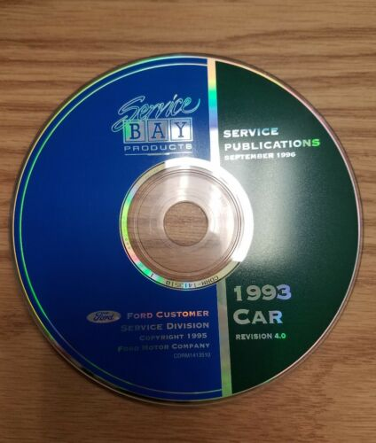Service Bay Production Service Publications September 1996 1993 Car Revision 4.0