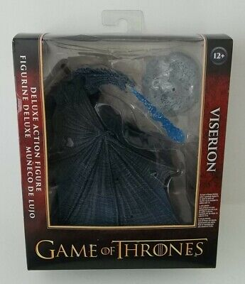 2018 McFarlane Game of Thrones Deluxe Viserion Ice Dragon Action Figure