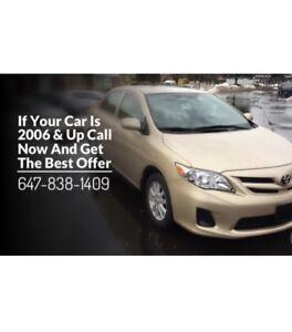 ✅Top Cash✅ For $Toyota$Acura$Honda$Ford$Hyundai ☎️647-838-1409☎️