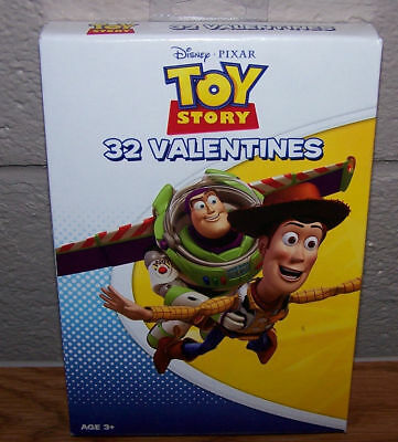 Halloween Day Story (Valentines Day Cards (Box of 32) Disney Pixar Toy)