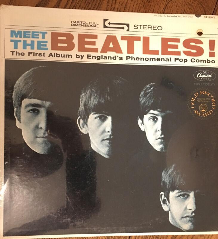 Meet The Beatles Stereo Album ST-2047 Sealed