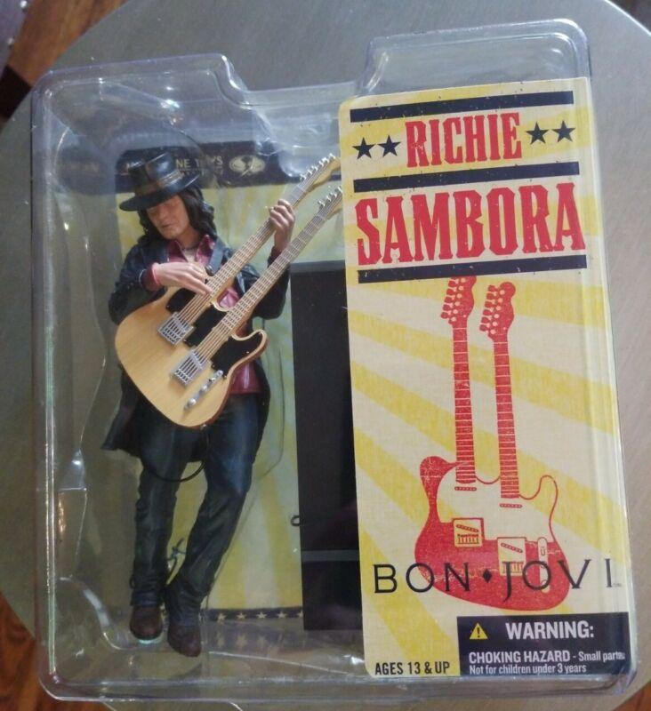 Rare Bon Jovi  Richie Sambora Todd Mcfarlane Toys Action Figure Brothers Rock