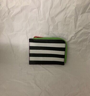 Black And White Makeup (SEPHORA Wallet Makeup Bag Pouch Black And)
