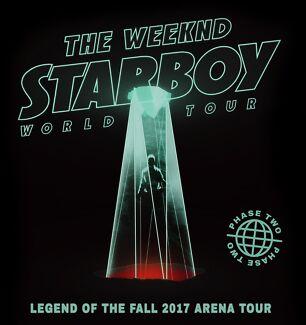 The Weeknd 2x GA Standing