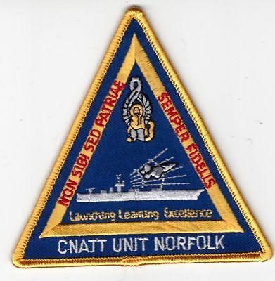 US NAVY  CNATT  Naval Aviation Technical Training NORTH ISLAND CA MILITAY Patch