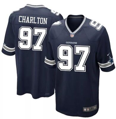 Sports Mem, Cards & Fan Shop Large NWT NWT NIKE  Dallas Cowboys Cole Beasley Youth Game NFL Navy Jersey SM