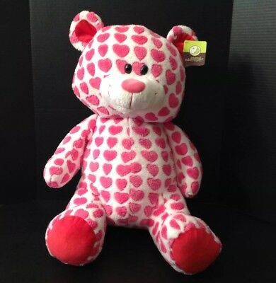 - Teddy Bear NWT Pink Hearts 26