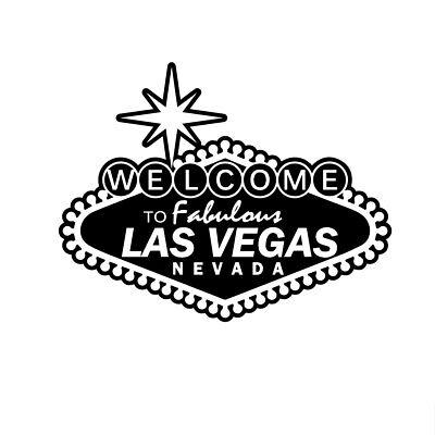 Las Vegas Welcome Sign Decal Window Bumper Sticker Car Decor Nevada Sin City - Las Vegas Decorations