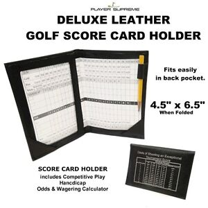 Deluxe-Golf-Leather-Score-Card-Holder-Black