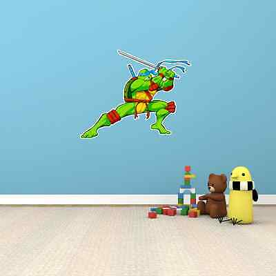 Teenage Mutant Ninja Turtles Cartoon Kids Room Wall Decor Sticker Decal 25