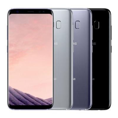 Unlocked Samsung Galaxy S8 64GB G950U EXYNOS 12.0 MP CAMERA BLACK GRAY SILVER 4G