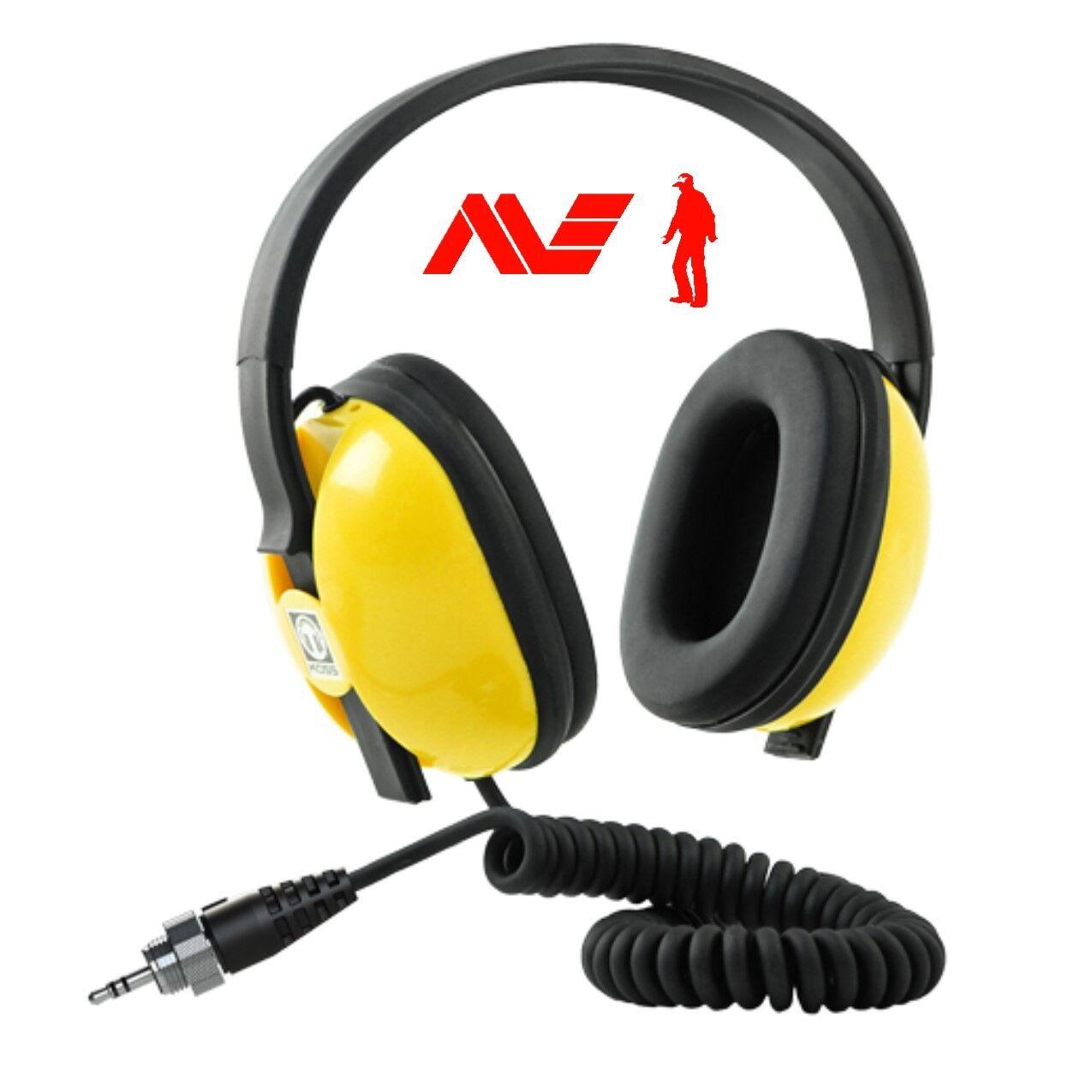 New Minelab Waterproof Headphones for EQUINOX 600 & 800 Metal Detectors,