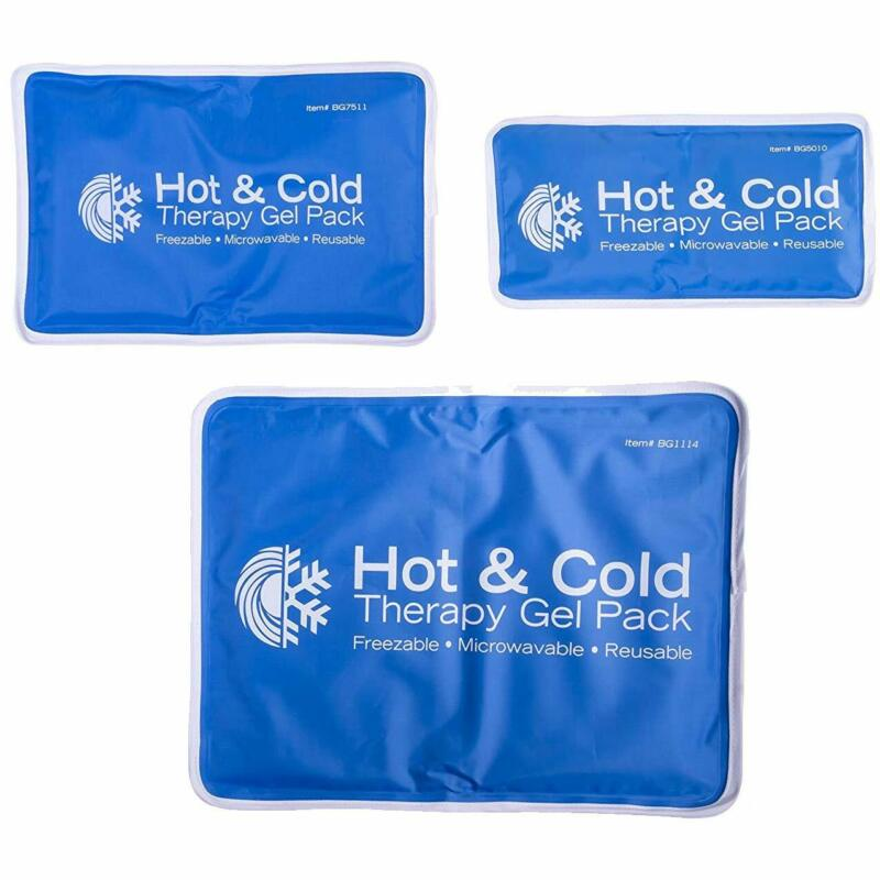 Small Ice Pack Cold/Hot Packs Therapy Pad Reusable Gel Pain