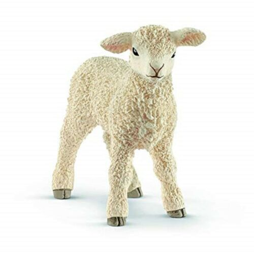<><  Lamb 13883 Lamb sheep strong tough looking Schleich Anywhere