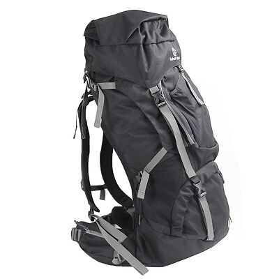 Tahoe Gear Fairbanks 75L Premium Internal Frame Hiking Backpack - - 75l Internal Frame Pack