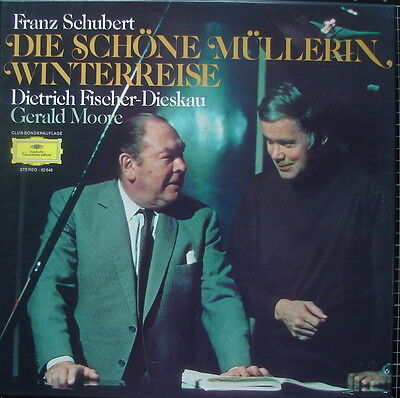 3er-Box SCHUBERT Die schöne Müllerin; Winterreise - DIESKAU  - MOORE