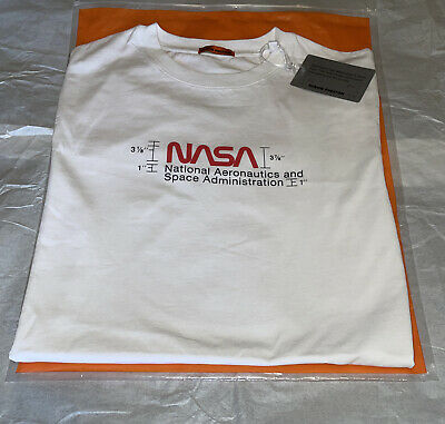 Heron Preston Man White NASA T-Shirt * Extra Small (Cotton)* FREE SHIPPING !!!