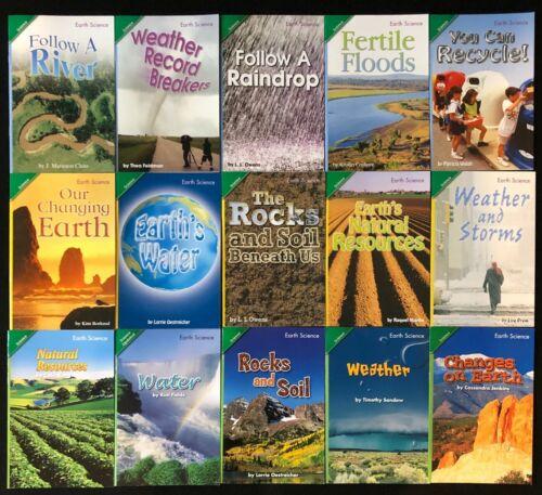 3rd Grade EARTH SCIENCE Curriculum Readers (15 books) Teacher/Homeschool/Tutor