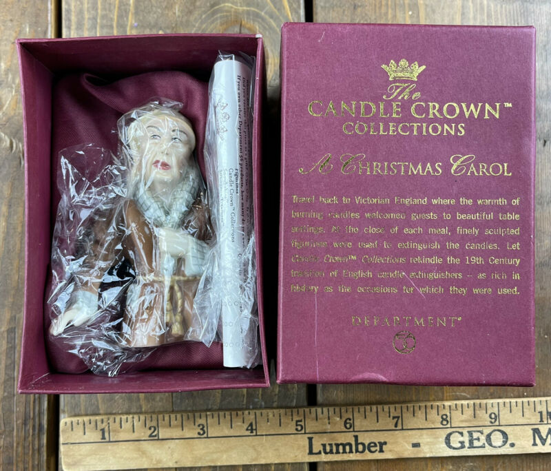 Dept. 56 Candle Crown Candle Snuffer Ebenezer Scrooge  A Christmas Carol 50029