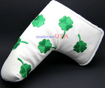 Shamrock Lucky Irish St Patrick's Putter Cover For Scotty Cameron Odyssey Blade - Lucky Shamrock